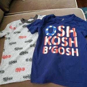 Bundle of 6 Carters/Osh Kosh Tshirts